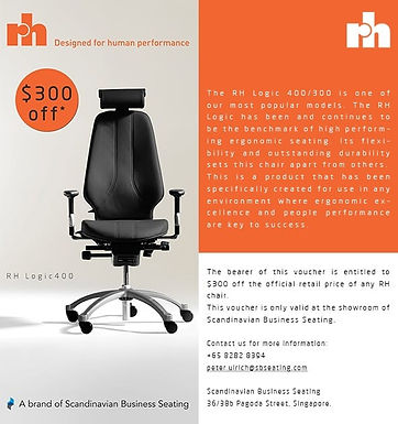 E-Voucher to Purchase Dr Tim's Office Chair