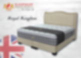 'Royal Kingdom' Mattress from the 'Sleepnight' range by Sommeil Terre