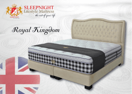 'Royal Kingdom' Mattress from the 'Sleepnight' range by Sommeil Terre