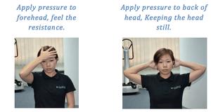 Cervical (neck) Isometric Strength Level 1
