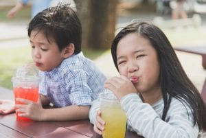 Drinking sugary drinks can increase your chances of getting diabetes