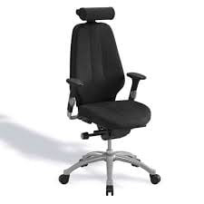 The active sitting mechanism keeps you energized during long working days.