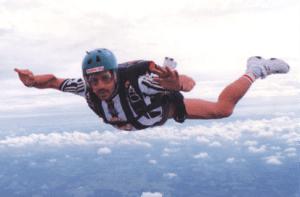 Dr Tim Sky Diving
