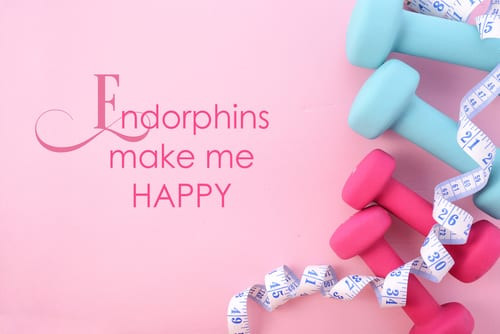 Endorphins make me happy