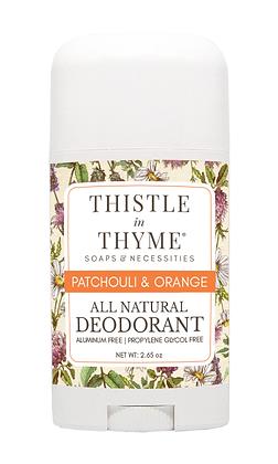 Patchouli & Orange  All Natural Deodorant