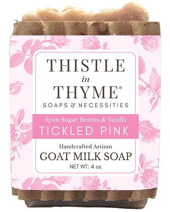 Tickled Pink Goat Milk Soap