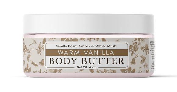 Warm Vanilla Body Butter
