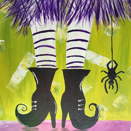 """Weds, Oct 28th @7pm """"Fancy Witch Shoes"""""""""""