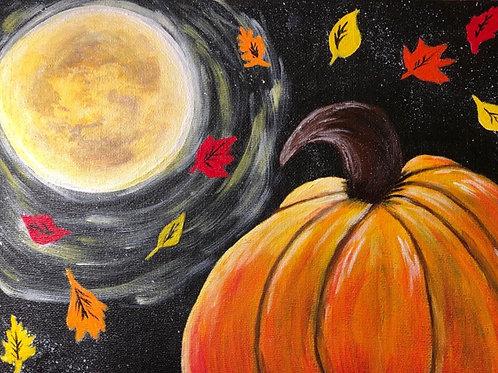 "Thursday, Oct 29th @7pm ""Midnight Pumpkin"""""