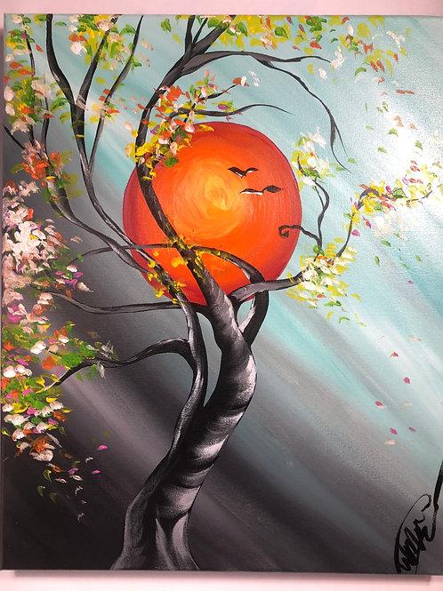 "Thursday, Oct 15th @7pm ""Moonlit Tree"""""""