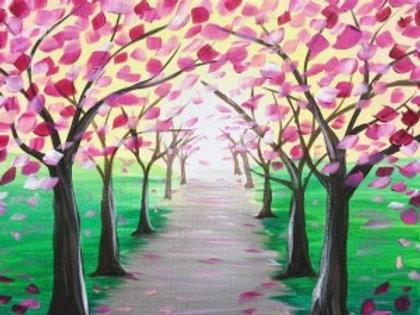 """Thursday, April 8th @7pm """"Spring Trees"""""""