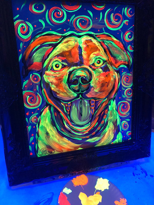 Thurs, July 15th @7pm Glow Paint Your Pet Ages 15+ Welcome