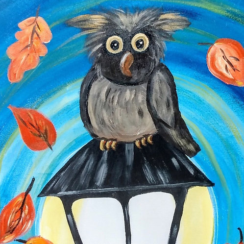 """Saturday, Oct 24th @11am Mommy & Me """"Owl Be The Light"""""""""""