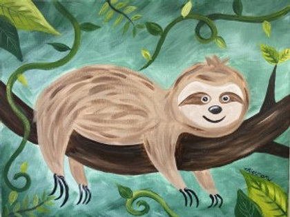 """Saturday, June 5th @11am Mommy&Me """"Cute Sloth"""""""