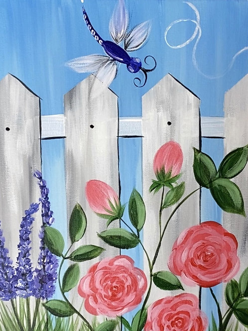 """Sunday, May 23rd @6pm Praise.Paint&Groove """"God's Garden"""""""