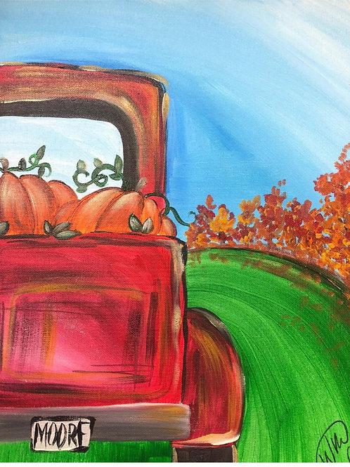 """Weds, Oct 14th @7pm """"Pumpkin Truck"""""""""""