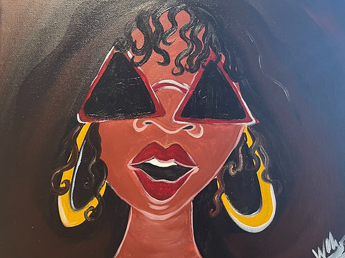 """Friday,  June 18th @7pm """"Trap.Paint&Groove"""" Cool Diva"""