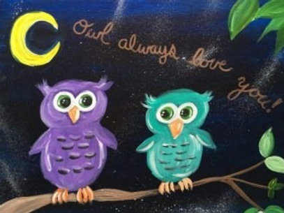 """Saturday, April 24th @11am Mommy&Me """"Owl Love You"""""""