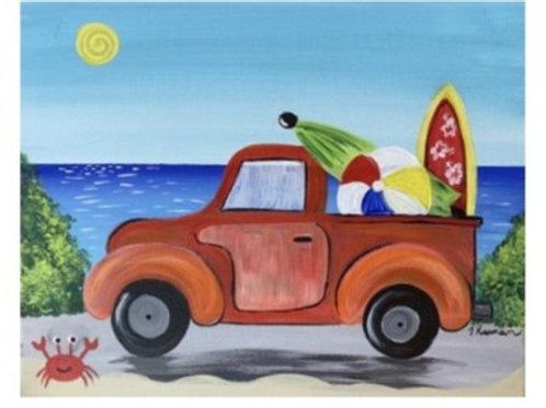 """Beach Truck"" KID'S SUMMER CAMPS 2021 July 20th @11am-1:30pm"