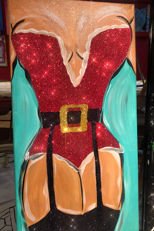"Dec 18th @7pm ""Christmas Diva"" Trap.Paint&Groove"