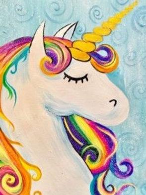 "Saturday, June 12th @11am Mommy&Me ""Rainbow Unicorn"""