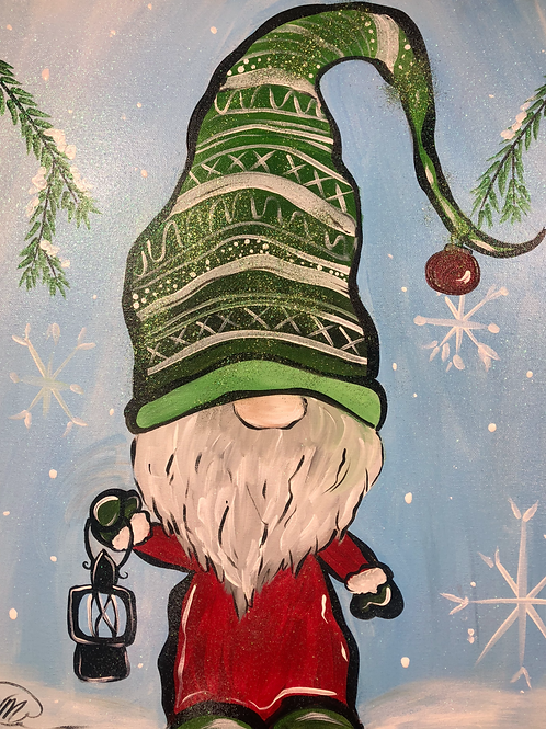 """3 - PACK Glitter """"Winter Gnome"""" CHRISTMAS BUNDLE DEAL"""