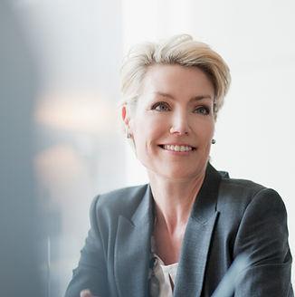 Executive Woman ready for coaching