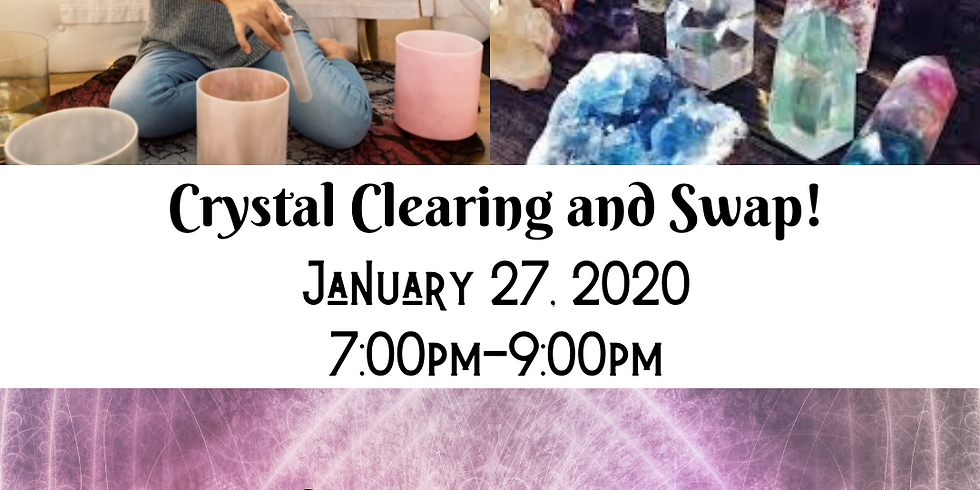 Clear + Swap | A Sound Healing Experience