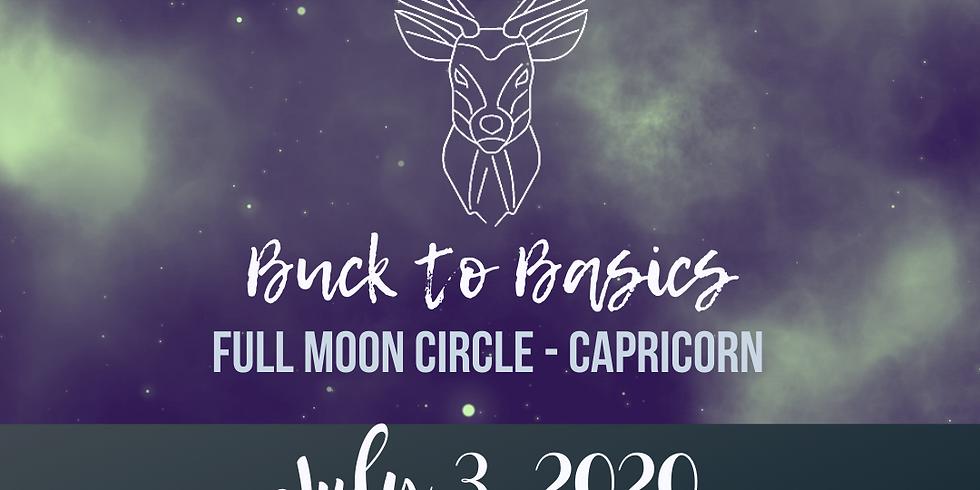 July Full Moon + Lunar Eclipse