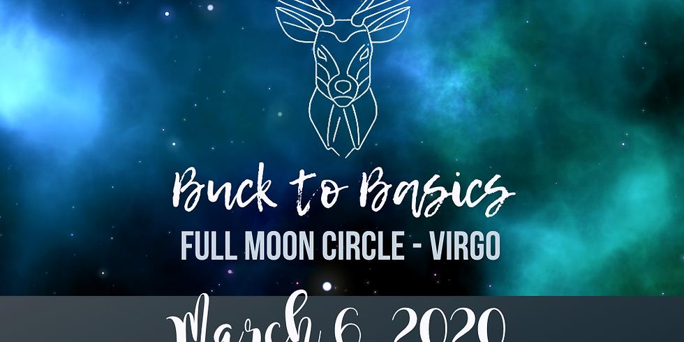 March Super Full Moon in Virgo