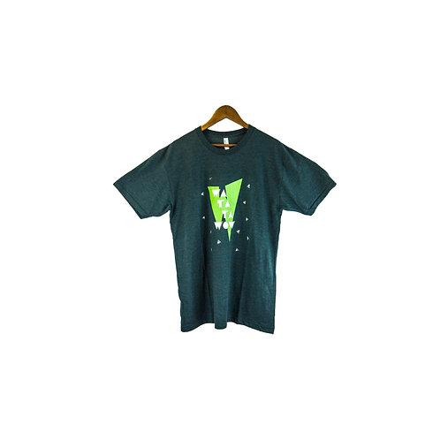 T-shirt Watatawow Vert Forêt