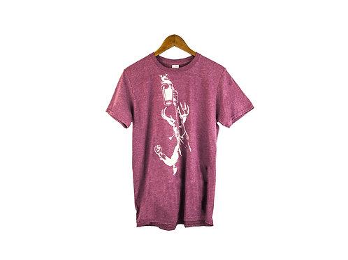 T-shirt mauve triblend