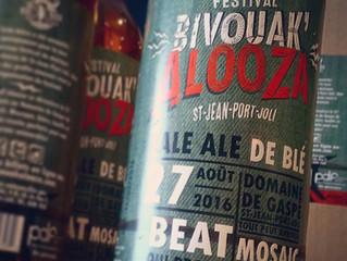 Une Bière pour le BivouaK'alooza!