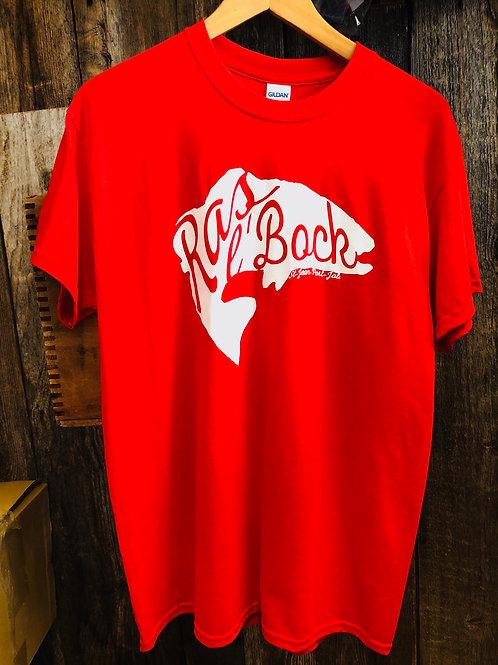 T-Shirt Homme Poisson Rouge