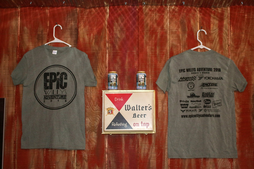 Epic Willys Adventure Sponsor shirt