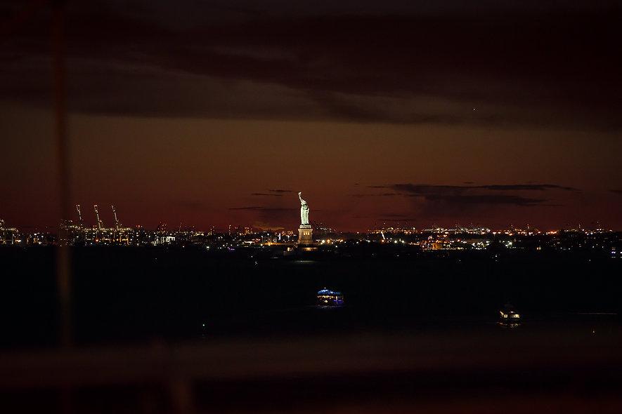 NYC Lady Liberty - Night
