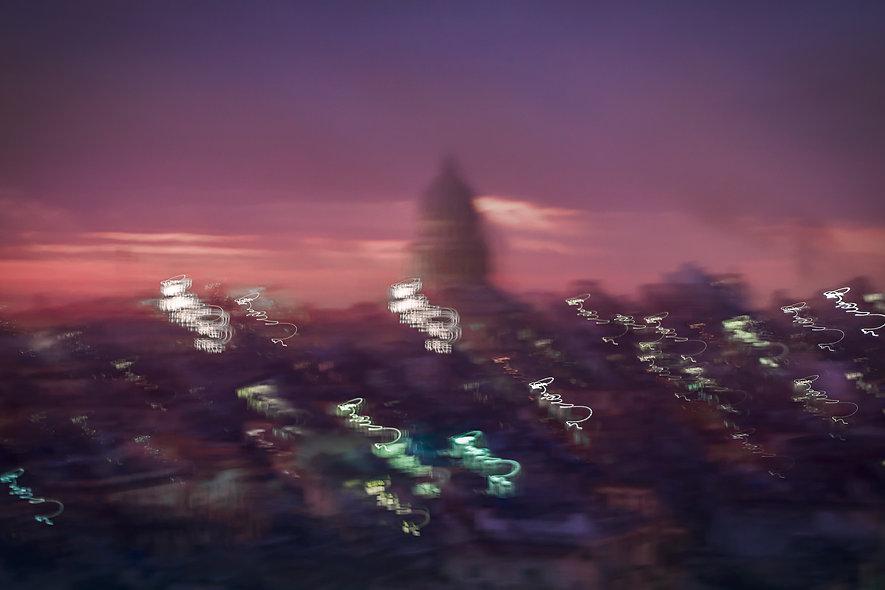 Capitolio - La Habana - Moving lights series