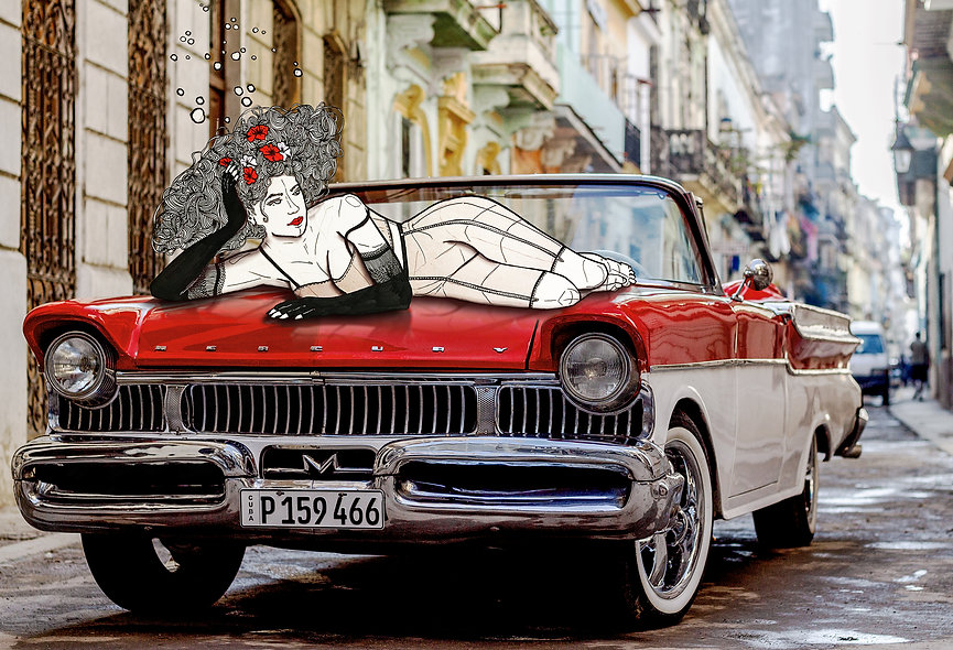 Maite in La Habana ©2021 YasUli Art
