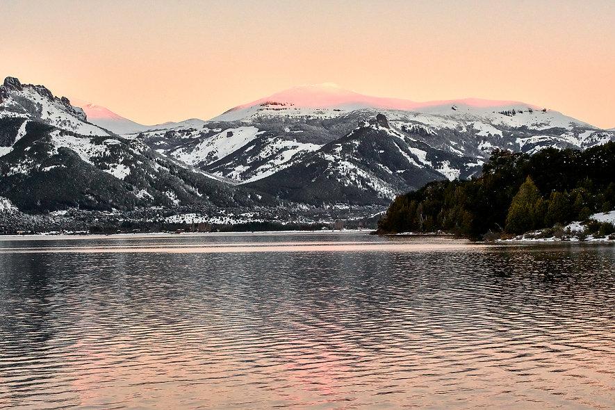 Melequina Lake Sunset - Patagonia Series