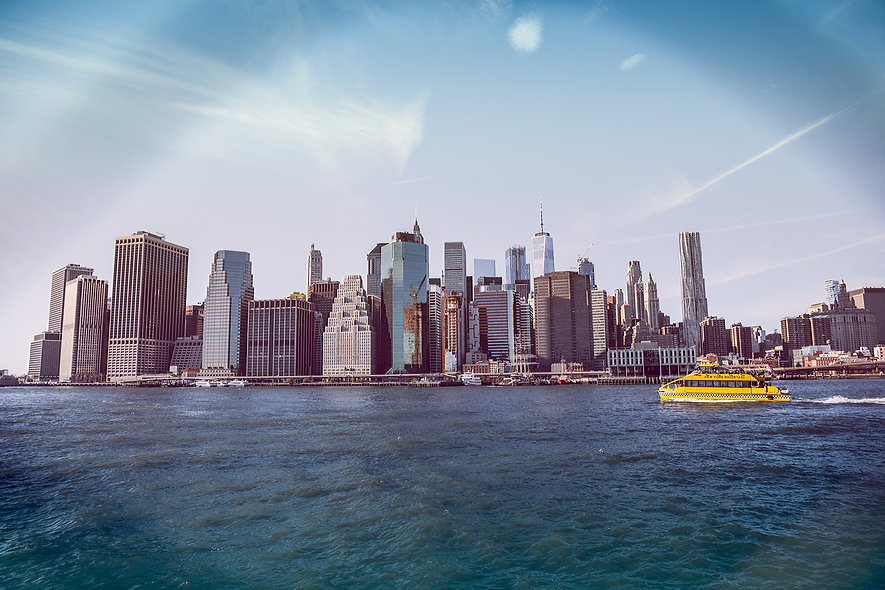 NYC Manhattan Skyline - Landscape