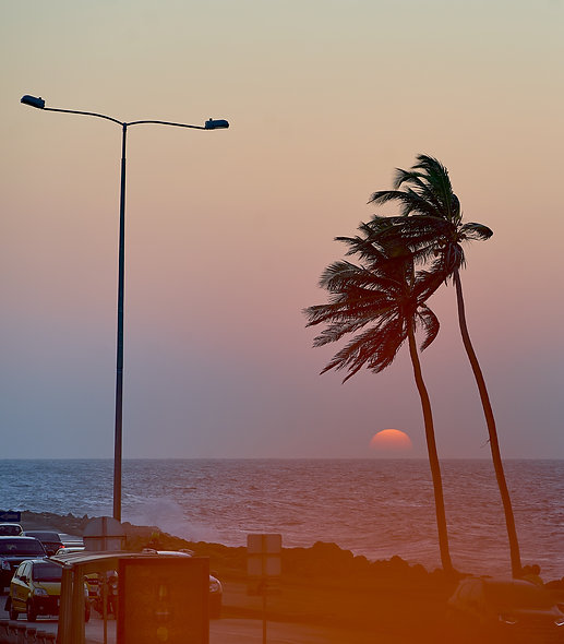 Sunset at Cartagena - Sunset Series