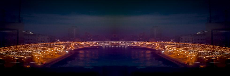 El Malecon 5am - Moving Lights series