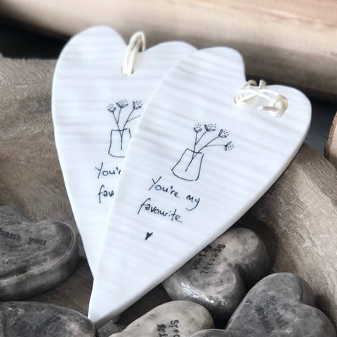 HANGING HEARTS AND PLAQUES