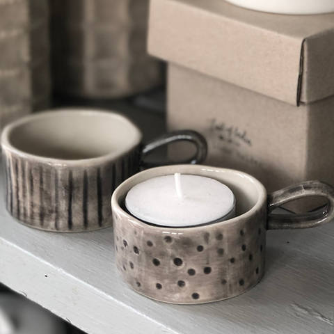 TEALIGHT AND CANDLE HOLDERS