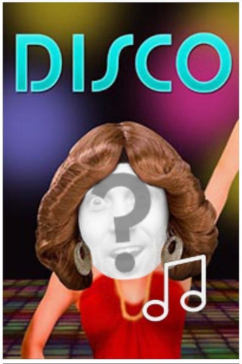 Disco Birthday Dance - Female