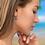 Thumbnail: Topaz Teardrop Hollywood Sensations Dangle Earrings