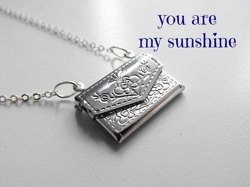 You Are My Sunshine Locket