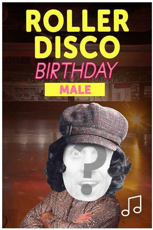 Disco Birthday Dance - Male