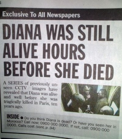 Daily's funny newspaper headline