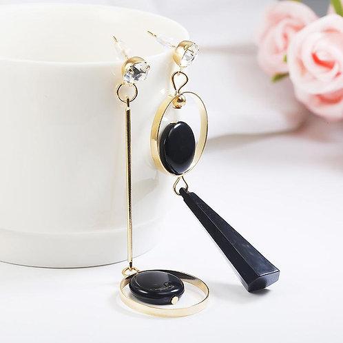 Fashion Geometric Acrylic Resin Earrings